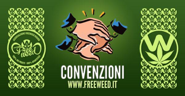 Convenzioni Soci Sostenitori Associazione FreeWeed Board