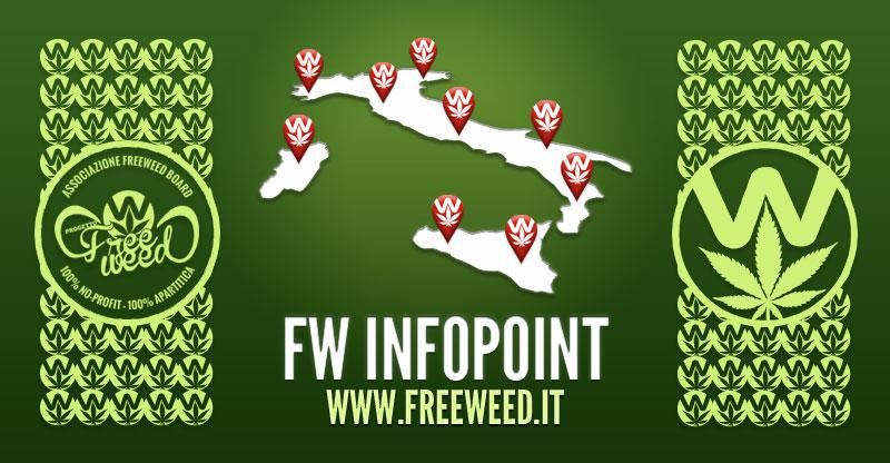 Progetto FreeWeed InfoPoint - Punti Informativi sul territorio