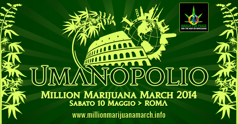 Million Marijuana March Italia - Comunicato Ufficiale 2014