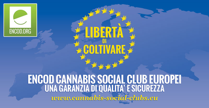 ENCOD Cannabis Social Club Europei